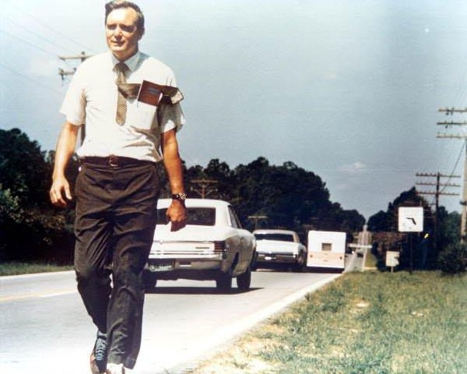 Lawton Chiles, Florida's last Democratic governor, during his 1970 senatorial run. - FLORIDA MEMORY