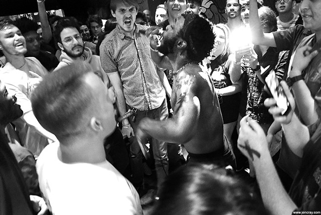 JPEGMafia at Will's Pub. Someday this will happen agaiin - PHOTO BY JEN CRAY FOR ORLANDO WEEKLY