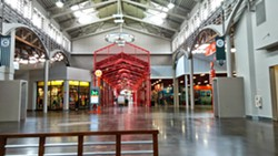 The former Artegon shopping center, now home to Dezerland - IMAGE VIA KEN STOREY