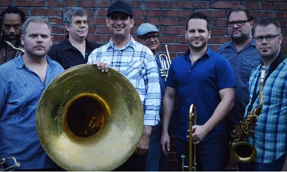 Brown Bag Brass Band - VIA BROWN BAG BRASS BAND FACEBOOK
