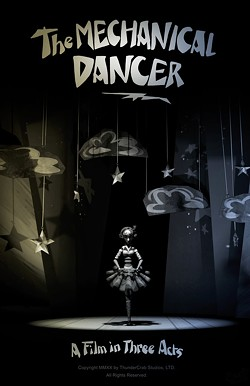 """""""The Mechanical Dancer,"""" an animated short film directed by Jenna Jaillet from Sunrise, is one of the many Florida films in this year's festival."""