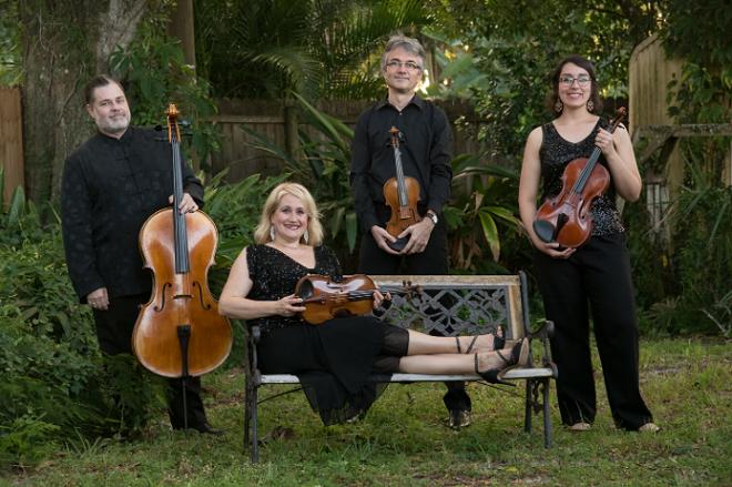 Fernwood String Quartet - PHOTO VIA FERNWOODQUARTET.COM