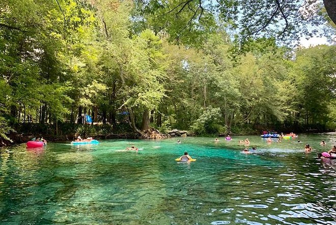 PHOTO COURTESY GINNIE SPRINGS/FACEBOOK