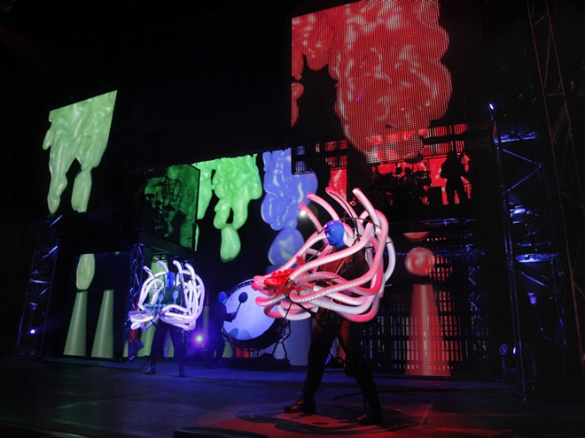 Blue Man Group at Universal Orlando - IMAGE VIA UNIVERSAL ORLANDO