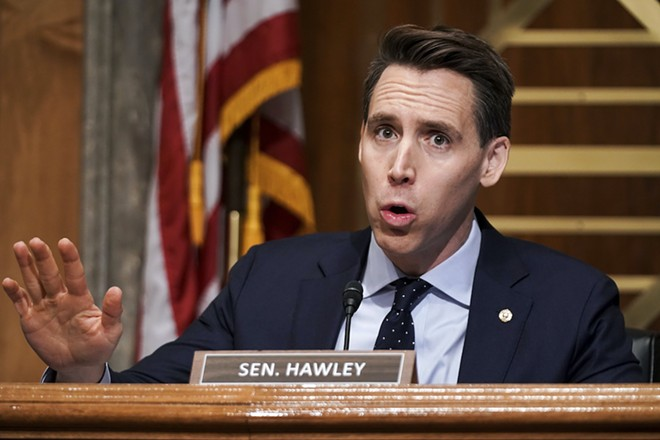 Sen. Josh Hawley - PHOTO BY VASILIS ASVESTAS