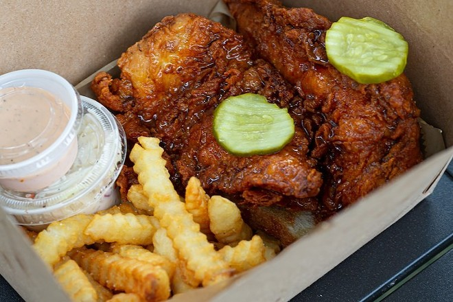 Chicken Fire - PHOTO BY ROB BARTLETT FOR ORLANDO WEEKLY