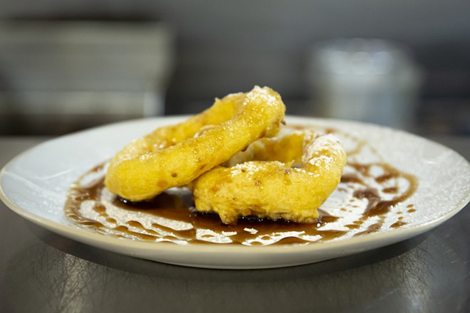 Picarones - PHOTO BY ROB BARTLETT
