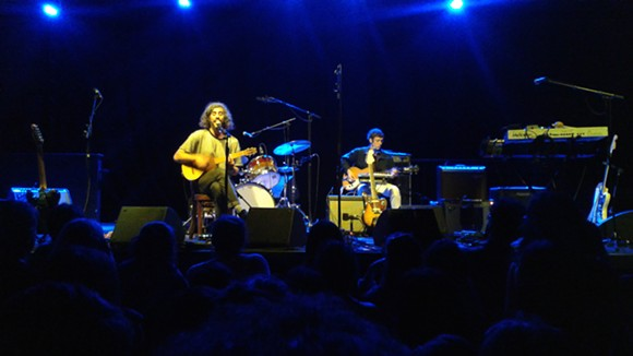 Gregory Rogove and H. Hawkline at the Beacham