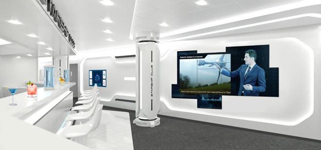 The MSC Starship Club on the MSC Virtuosa - IMAGE VIA MSC CRUISES