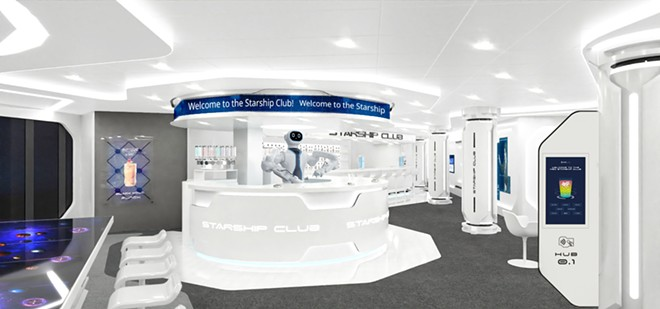 The MSC Starship Club on the MSC Virtuosa - IMAGE VIA MSC CRUISES
