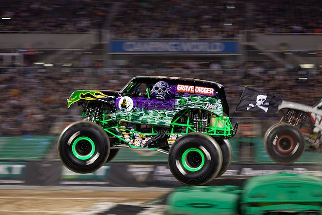 Grave Digger - PHOTO COURTESY OF FELD ENTERTAINMENT