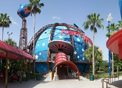 The former look of the Disney Springs Planet Hollywood - PHOTO BY YARKOB/WIKIMEDIA COMMONS