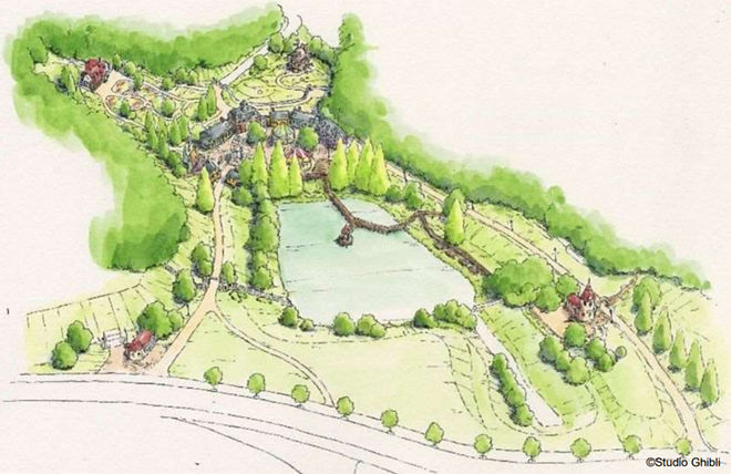 Witch Valley at Ghibli Park - IMAGE VIA AICHI PREFECTURE POLICY PLANNING BUREAU