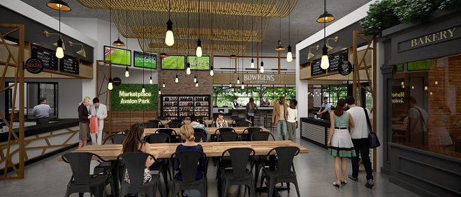 Rendering of the interior of Marketplace at Avalon Park - COURTESY OF MARKETPLACE AT AVALON PARK
