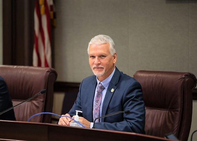 Florida Sen. Keith Perry has recently proposed a bill to give former felons back their right to own firearms. - PHOTO COURTESY OF KEITH PERRY/FACEBOOK
