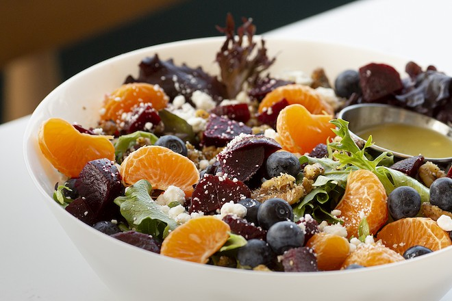 Citrus beet salad. - PHOTO BY ROB BARTLETT