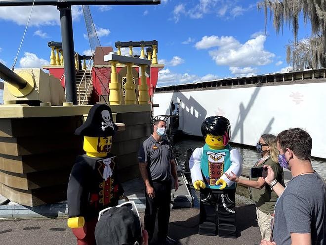 Brickbeard's Watersports Stunt Show at Legoland - PHOTO BY SETH KUBERSKY