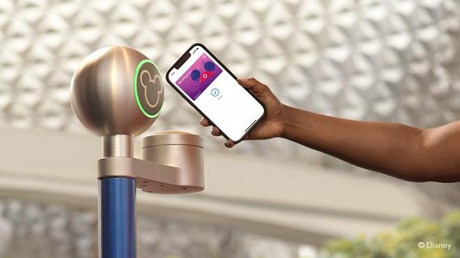 Disney MagicMobile Service will provide MagicBand services via smartphones - IMAGE VIA DISNEY