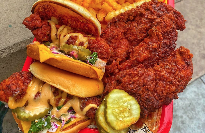 Someday all of this could be yours … - PHOTO COURTESY DAVE'S HOT CHICKEN/INSTAGRAM