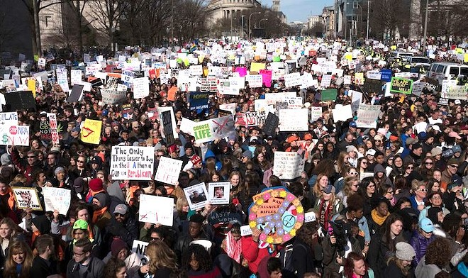 Legalize It - PHOTO COURTESY MARCH FOR OUR LIVES/FACEBOOK