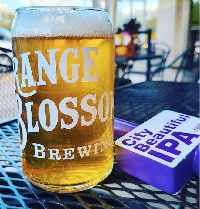 PHOTO COURTESY ORANGE BLOSSOM BREWING/INSTAGRAM