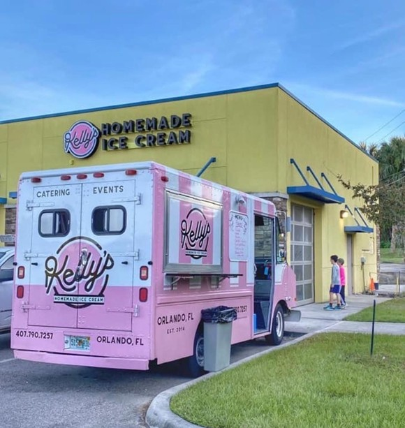 Kelly's Homemade Ice Cream, Oviedo location - COURTESY OF KELLY'S HOMEMADE ICE CREAM