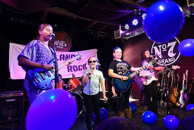 Blue Carolina, from 2019's Girls Rock Camp - PHOTO BY JEN CRAY FOR ORLANDO WEEKLY
