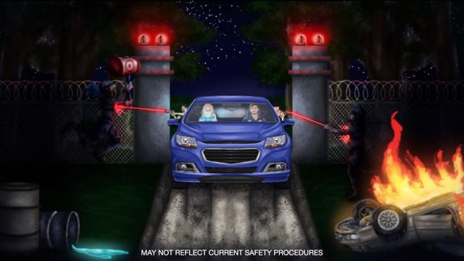 Concept art for 2021 Horror drive-thru adventure - COURTESY OF SCREAM N' STREAM