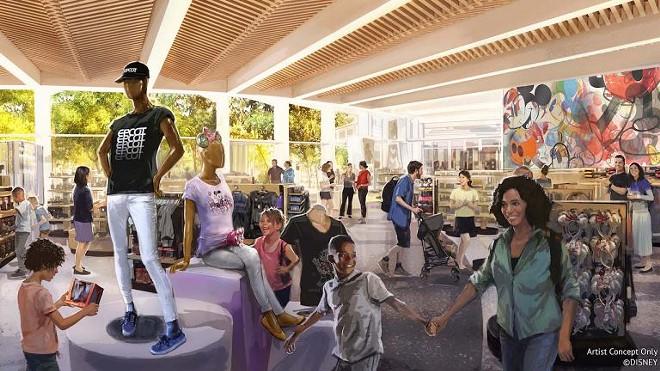 The Creations Shop at Epcot - IMAGE VIA DISNEY