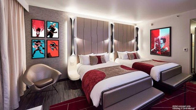Concept art for Disney's Hotel New York – The Art of Marvel - IMAGE VIA DISNEY