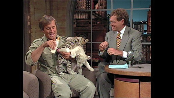 Jack Hanna on The Late Show with David Letterman in 1994 - IMAGE JUNGLE JACK HANNA | FACEBOOK