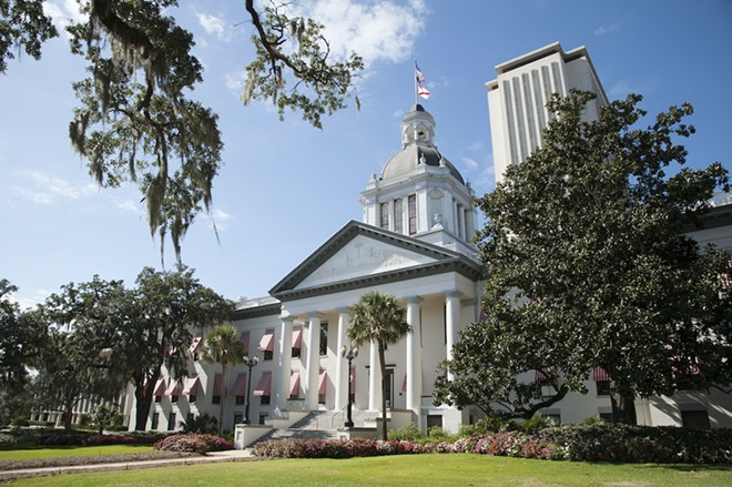 Florida's Capitol building in Tallahassee - ADOBE