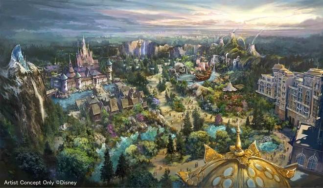 Fantasy Springs, a new land coming to Tokyo DisneySea - IMAGE VIA DISNEY