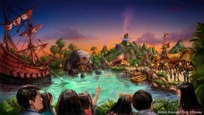 The Peter Pan area within Fantasy Springs - IMAGE VIA DISNEY