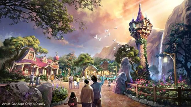 The Tangled area of Fantasy Springs - IMAGE VIA DISNEY