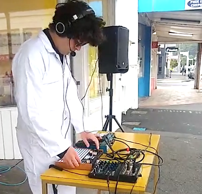Todd Luffa has already performed in New Zealand - SCREEN CAPTURE COURTESY WALK ON BY AGAIN/INSTAGRAM