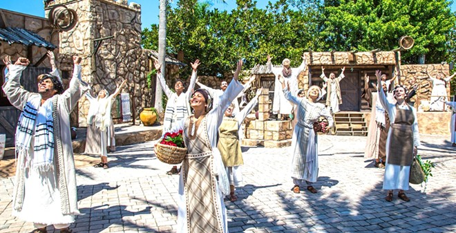 They know what time it is. - PHOTO COURTESY THE HOLY LAND EXPERIENCE/FACEBOOK
