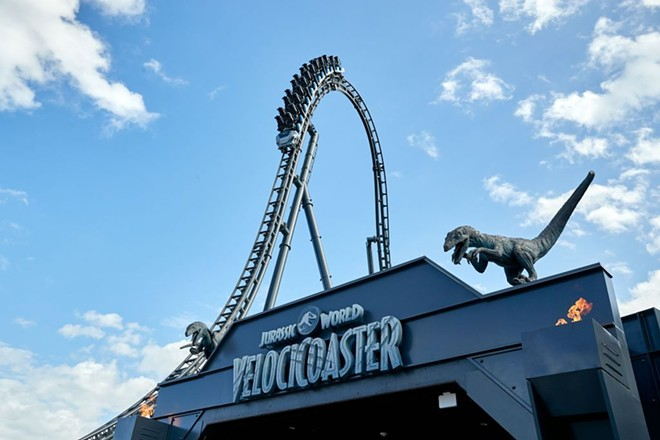 Entrance of the Velocicoaster at Islands of Adventure - COURTESY OF UNIVERSAL ORLANDO