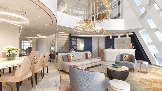 A look inside the Wish Tower Suite on the upcoming Disney Wish cruise ship. - IMAGE VIA DISNEY CRUISE LINE