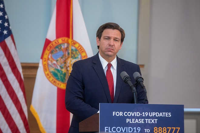 Florida plans to force low-wage workers back to work by prematurely ending expanded federal unemployment benefits in the state. - PHOTO COURTESY GOVERNOR'S PRESS OFFICE
