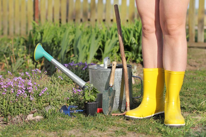 Orlando was one of the top 10 cities for naked gardening, per a new report - ADOBE