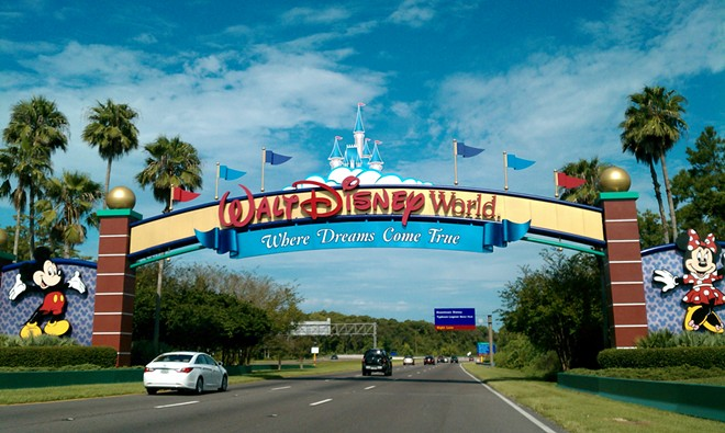 Walt Disney World plans to be at full capacity by the end of the year. - PHOTO VIA WIKIMEDIA COMMONS
