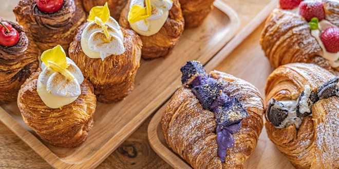 Cruffins to croissants - PHOTO COURTESY OF THE RESTAURANT