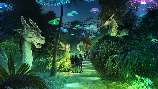 'Dragons and Fairies' concept art - IMAGE COURTESY CREATIVE CITY PROJECT