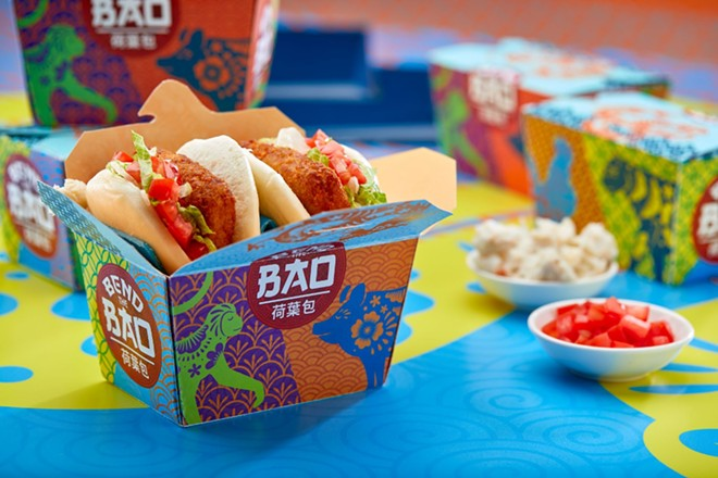 A new bao restaurant is opening at CityWalk. - PHOTO VIA UNIVERSAL
