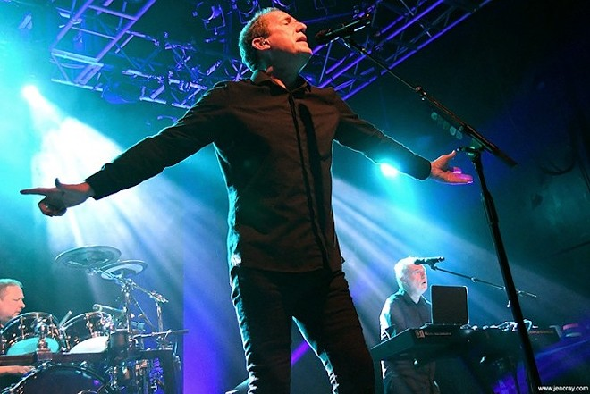 OMD in Orlando, 2018 - PHOTO BY JEN CRAY FOR ORLANDO WEEKLY