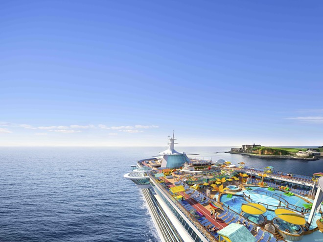 Royal Caribbean's Freedom of the Seas, to sail out of Miami starting in July - IMAGE VIA ROYAL CARIBBEAN
