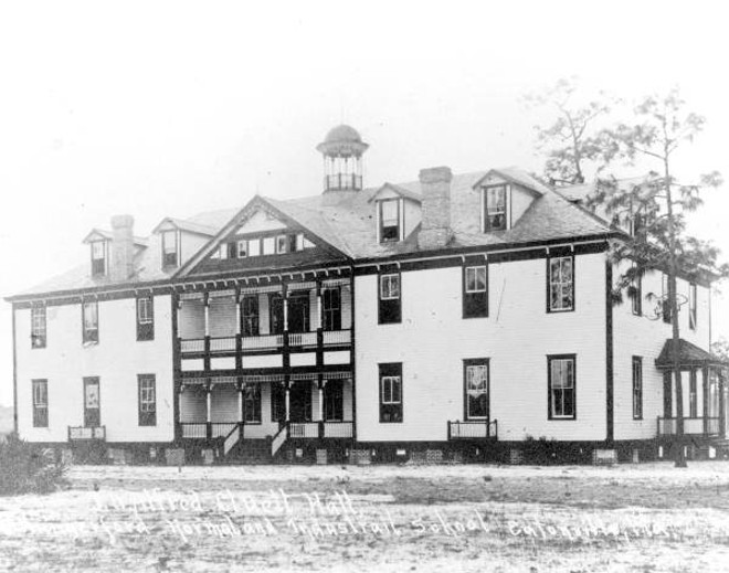 The historic site of Hungerford Preparatory School is up for sale and the Town of Eatonville hopes to see mix investment from developers. - VIA THE STATE ARCHIVE OF FLORIDA