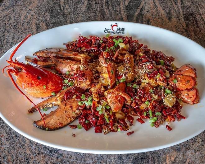Spicy lobster - PHOTO COURTESY TASTE OF CHENGDU