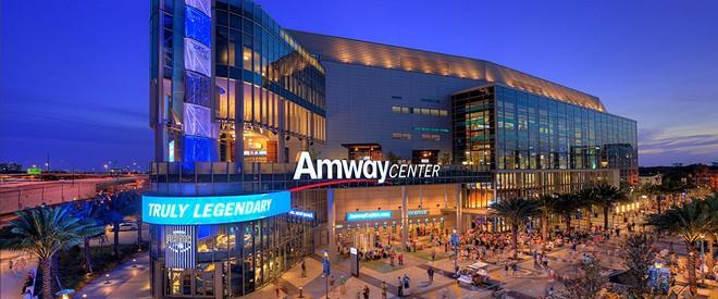 Amway Center - VIA AMWAYCENTER.COM